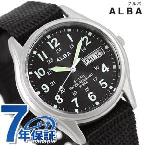 セイコー アルバ ソーラー デイデイト メンズ 腕時計 AE...