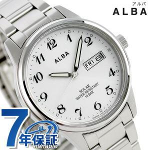 セイコー アルバ ソーラー 日本製 メンズ 腕時計 AEFD561|nanaple