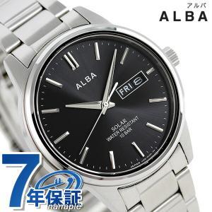 セイコー アルバ ソーラー 日本製 メンズ 腕時計 AEFD562|nanaple