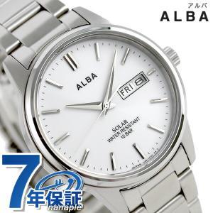セイコー アルバ ソーラー 日本製 メンズ 腕時計 AEFD563|nanaple