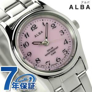 セイコー アルバ ソーラー レディース 腕時計 AEGD540 SEIKO|nanaple
