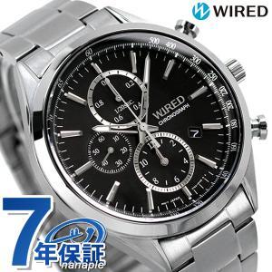 ワイアード スタンダード クロノグラフ 腕時計 AGAV109 SEIKO ワイアード|nanaple