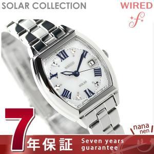 セイコー ワイアード エフ ソーラー レディース 腕時計 AGED075 SEIKO|nanaple