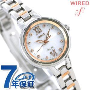セイコー ワイアード エフ ソーラー レディース 腕時計 AGED091 SEIKO|nanaple