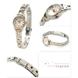 セイコー アンジェーヌ レディース 腕時計 AHJK418 SEIKO ALBA ingenu|nanaple|02