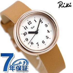 de29bb0e3c セイコー アルバ リキ レディース 腕時計 革ベルト アラビア数字 AKQK449 SEIKO ALBA Riki ホワイト×ライトブラウン