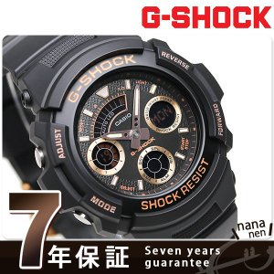 22日までエントリーで最大21倍 G-SHOCK ワールドタイム クオーツ メンズ 腕時計 AW-591GBX-1A4DR カシオ Gショック|nanaple