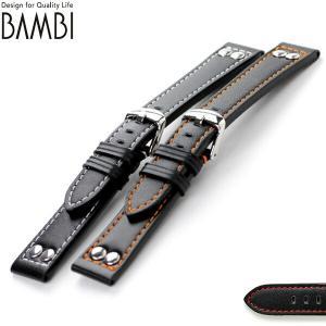交換用ベルト 腕時計 カーフレザー バンビ 選べるモデル BCM05 nanaple