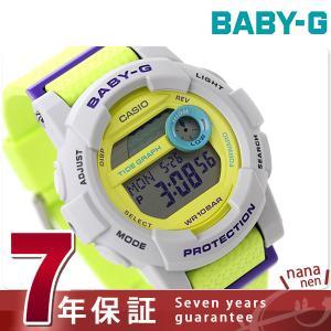Baby-G CASIO Gライド レディース 腕時計 BGD-180-3DR ベビーG nanaple