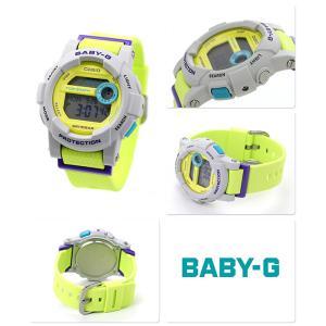Baby-G CASIO Gライド レディース 腕時計 BGD-180-3DR ベビーG nanaple 02