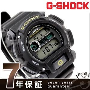 【あすつく】ジーショック G-SHOCK CASIO 腕時計 日本未発売モデル ブラック×イエロー DW-9052-1B