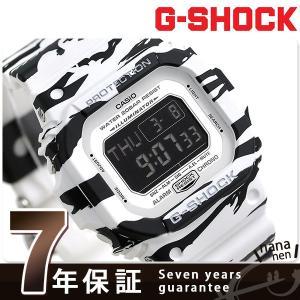 25日はエントリーで最大20倍 G-SHOCK ホワイト&ブラックシリーズ メンズ 腕時計 DW-D5600 Gショック|nanaple