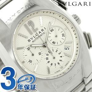 ブルガリ BVLGARI エルゴン 40mm クロノグラフ 腕時計 EG40C6SSDCH