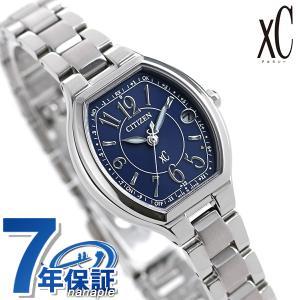シチズン クロスシー エコドライブ電波 ハッピーフライト レディース 腕時計 ES9360-58L CITIZEN xC|nanaple