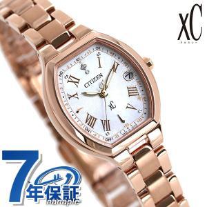 シチズン クロスシー エコドライブ電波時計 限定モデル ダイヤモンド レディース 腕時計 ES9362-52X CITIZEN xC|nanaple
