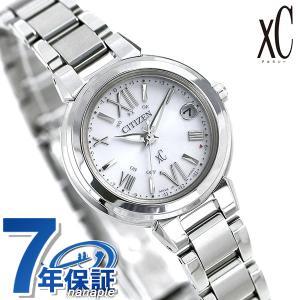 シチズン クロスシー CITIZEN xC エコドライブ 電波時計 レディース 腕時計 ES9430-54A 電波ソーラー シルバー|nanaple