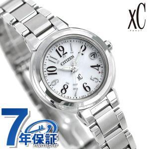 シチズン クロスシー CITIZEN xC エコドライブ 電波時計 レディース 腕時計 ES9430-54B 電波ソーラー シルバー|nanaple