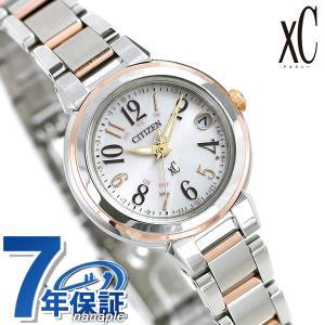 シチズン クロスシー CITIZEN xC エコドライブ 電波時計 レディース 腕時計 ES9434-53X 電波ソーラー シルバー|nanaple