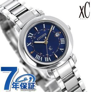 シチズン クロスシー エコドライブ電波時計 チタン レディース 腕時計 ES9440-51L CITIZEN xC ヒカリコレクション ダークブルー|nanaple
