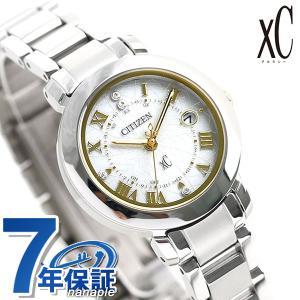 シチズン クロスシー エコドライブ電波時計 限定モデル レディース 腕時計 ES9440-51P CITIZEN xC ヒカリコレクション シルバー|nanaple