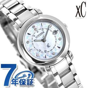 シチズン クロスシー エコドライブ電波時計 限定モデル レディース 腕時計 ES9440-51W CITIZEN xC ヒカリコレクション ホワイトシェル|nanaple