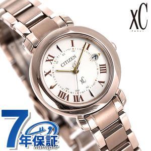シチズン クロスシー エコドライブ電波時計 北川景子 広告着用モデル サクラピンク(R) レディース 腕時計 ES9444-50A ヒカリコレクション|nanaple