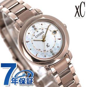 シチズン クロスシー サクラピンク(R) エコドライブ電波時計 限定モデル レディース 腕時計 ES9444-50X CITIZEN xC ヒカリコレクション|nanaple