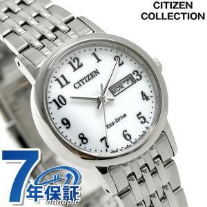 シチズン ソーラー デイデイト レディース 腕時計 EW32...