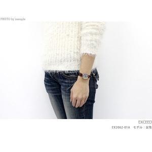 シチズン エクシード エコ・ドライブ レディース EX2062-01A 腕時計|nanaple|03