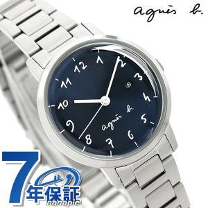 sale retailer e3a39 9e077 今ならポイント最大30倍! アニエスベー 時計 レディース カレンダー FCSK934 agnes b. マルチェロ ネイビー 腕時計