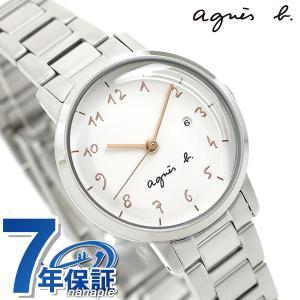 huge discount d9751 84dbd 今ならポイント最大30倍! アニエスベー 時計 レディース カレンダー FCSK935 agnes b. マルチェロ ホワイト 腕時計