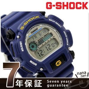 G-SHOCK ベーシック ブルー デジタル メンズ 腕時計...