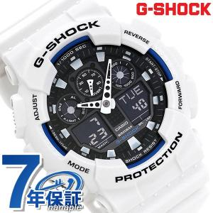 CASIO G-SHOCK G-ショック STANDARD ブラック×ホワイト GA-100B-7ADR