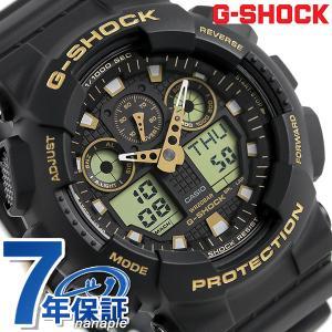 25日はエントリーで最大20倍 G-SHOCK スペシャルカラー クオーツ メンズ 腕時計 GA-100GBX-1A9DR Gショック|nanaple