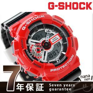 9日からエントリーで最大25倍 G-SHOCK クオーツ メンズ 腕時計 GA-110RD-4ADR