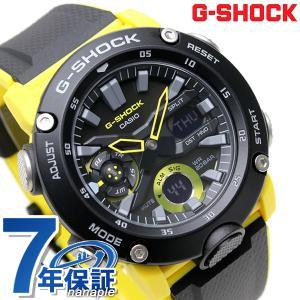 19日は全品5倍でポイント最大12倍 G-SHOCK Gショック GA-2000 アナデジ メンズ 腕時計 GA-2000-1A9DR ブラック×イエロー カシオ 腕時計のななぷれ