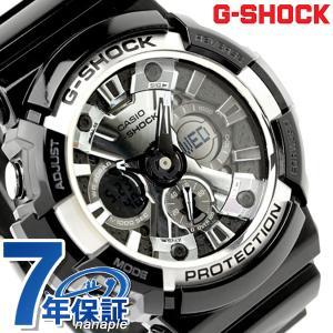9日からエントリーで最大25倍 G-SHOCK Garish Black GA-200BW-1ADR メンズ 腕時計