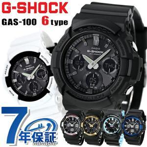25日はエントリーで最大20倍 G-SHOCK Gショック ソーラー アナデジ GAS-100 メンズ 腕時計 CASIO|nanaple
