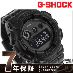 25日はエントリーで最大20倍 G-SHOCK スペシャルカラー クオーツ メンズ 腕時計 GD-120BT-1DR カシオ Gショック|nanaple