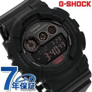 9日からエントリーで最大25倍 G-SHOCK ミリタリーブラック・シリーズ 腕時計 GD-120MB-1DR Gショック