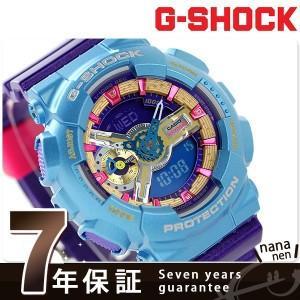 9日からエントリーで最大25倍 G-SHOCK S シリーズ クオーツ メンズ 腕時計 GMA-S110HC-6ADR Gショック
