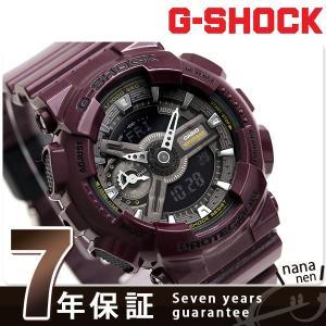 9日からエントリーで最大25倍 G-SHOCK Sシリーズ クオーツ メンズ 腕時計 GMA-S110MC-6ADR Gショック