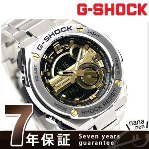 G-SHOCK Gスチール クオーツ メンズ 腕時計 GST-210D-9ADR Gショック