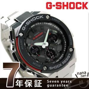 9日からエントリーで最大25倍 G-SHOCK Gスチール メンズ 腕時計 GST-S100D-1A4DR Gショック