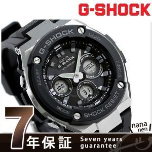 25日はエントリーで最大20倍 G-SHOCK Gスチール ソーラー メンズ 腕時計 GST-S300-1ADR Gショック|nanaple