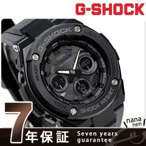 25日はエントリーで最大20倍 G-SHOCK Gスチール ソーラー メンズ 腕時計 GST-S300 Gショック|nanaple