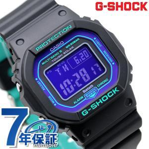 9日は+10倍でポイント最大22倍 G-SHOCK Gショック スペシャルカラー 電波 ソーラー GW-B5600 メンズ 腕時計 GW-B5600BL-1ER デジタル パープル×ブラック カシオ|腕時計のななぷれ