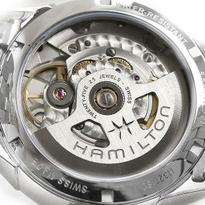 ハミルトン 時計 ジャズマスター 自動巻き 腕時計 オープンハート レディース H32115192 ホワイトシェル HAMILTON|nanaple|07