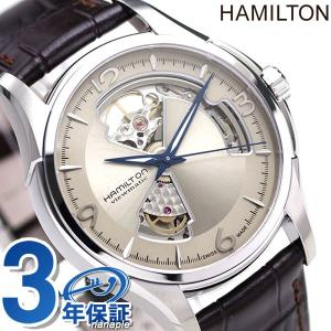 21日なら+7倍で最大19倍! ハミルトン 腕時計 メンズ ジャズマスター オープンハート 40mm 自動巻き H32565521 HAMILTON 革ベルト nanaple