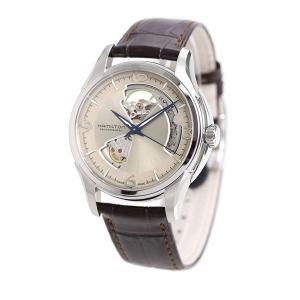 21日なら+7倍で最大19倍! ハミルトン 腕時計 メンズ ジャズマスター オープンハート 40mm 自動巻き H32565521 HAMILTON 革ベルト nanaple 02